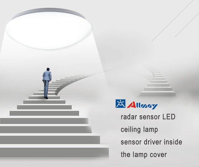 microwave sensor led-ceiling-lamp