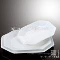 CHAOZHOU Hotel&Restaurant white porcelain plates, porcelain dinnerware, Microwave safe plate