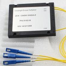 Wdm de fibra óptica para FTTH