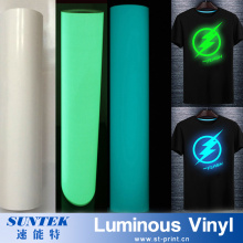 Luminous Glitter Flock Vinyl Heat Transfer Printing Vinyl for Garment