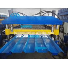 Machine de formage de rouleaux de panneau métallique de toit métallique, Machine de formage de rouleau de feuille de métal Prix