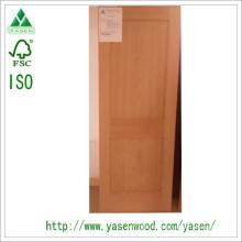 Dalle de porte intérieure en bois composite cerisier