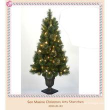 Árbol de Navidad PVC llevó la luz