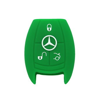 Mercedes Benz siliconen Smart Car Key Protector-hoes