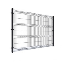 Real Estate Heavy Duty Pvc Coated 3D Welded Wire Mesh Fence Panels