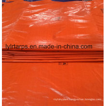 Waterproof Orange PE Tarpaulin Truck Cover