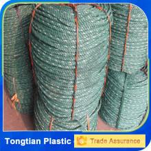 Matériau recyclé pe tiger corde