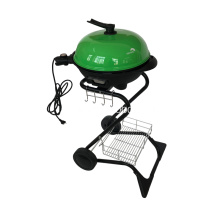 S Shape Electric Grill Grill i grönt