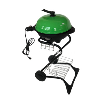 S Shape Electric Grill Barbecue En Verde