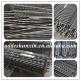 Qingdao threaded coil rod / full thread rod /iron rod building material used in the formwork building