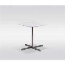 Table d'appoint carrée en marbre