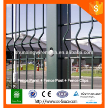 Alibaba galvanized grand view welded wire fence/bending fence/wire mesh fence for boundary wall