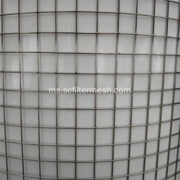 30mm Stainless Steel Welded Wire Mesh untuk Bangunan