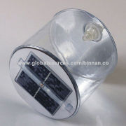 Portable Solar Power Inflatable 3 Modes LED Lantern Camping Light, Weighs 150g