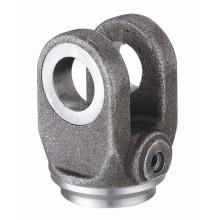 Fin de base en acier moulé spécialisé pour cylindre d'oeil