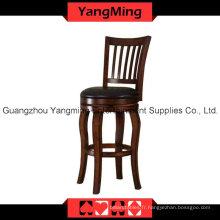 Chaise haute en bois américain (YM-DK12)