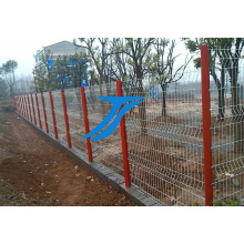 Ts-Sicherheit, die doppelten Maschendraht-Stahl-Garten-Zaun einzäunt