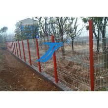 Valla de jardín de acero de malla de alambre doble cercado de seguridad