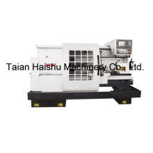 Cnc-Drehmaschine der CNC-Werkzeugmaschinen-Ck6150t mit großem Loch