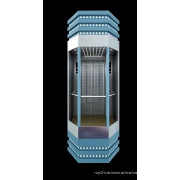 Construction Material Glass Elevator