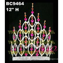 colored rhinestone tiara flower crown