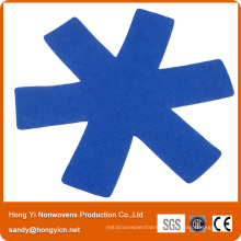 Flower Shape Polyester Nonwoven Fabric Pot Holder