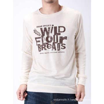 Imprimé vous possédez différents genres de conception T-shirt fait sur commande d'hommes de coton
