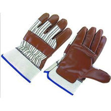 Heavy Duty Nitrile Laminated Jersey Liner Safety Work Glove-5406