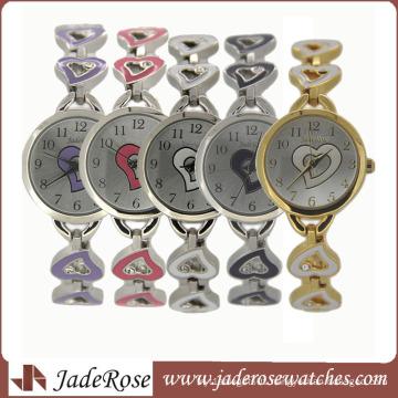 Newest Ladies Chain Watch, Metal Alloy Strap Watch