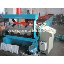 steel flooring decking plate panel roll forming machine