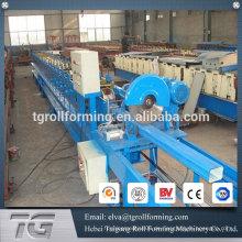 Hochfrequenz-Stahlplatte Rundrohr-Walzenformmaschine für Regenauslauf