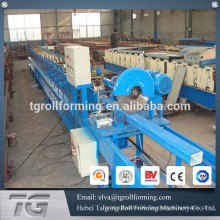 High frequency steel panel round pipe roll forming machine for rain spout