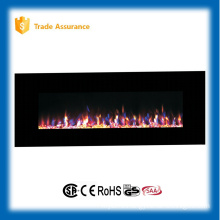 """72"""" wall mounted gorgeous fire wood fireplace with remote control"""