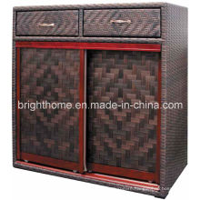 Shoe Cabinet Wicker Weaving Anti-Humidity Bp-S51