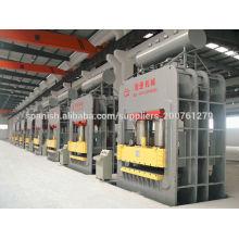 Máquina de moldeo de prensa de laminado de papel de madera