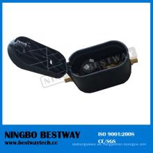 Caja de medidor de agua con accesorios de latón Professional Manufacturer (BW-L360)