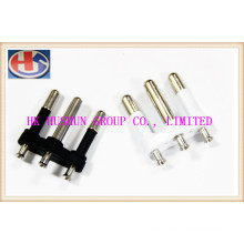 Supply Irregular Plug Pin with Metal Include Inner Tower (HS-003)