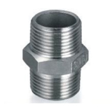Dn40, Od42.7mm SUS304 GB Hexagon Nipple (Conector de montaje / macho)