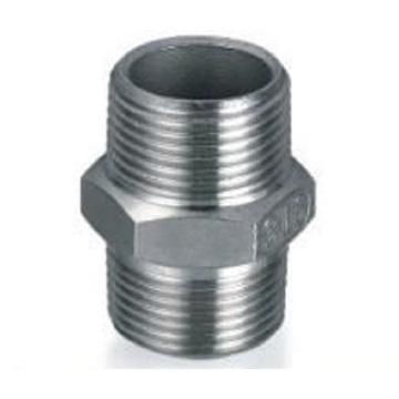Dn20, Od22.22mm SUS304 GB Hexagon Nipple (Conector de montaje / macho)