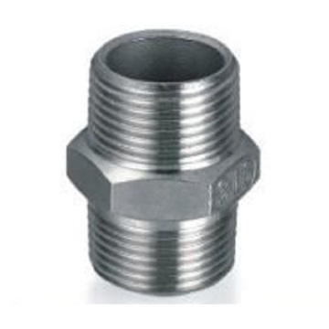 Dn40, Od40mm SUS304 GB Hexagon Nipple (raccord / connecteur mâle)