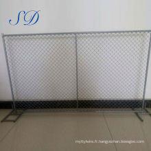 Porte de clôture temporaire des États-Unis Discount Building
