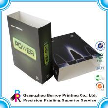 Китай оптовая таможня напечатала упаковывая бумажный конверт коробка