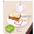 Cortador de brinde forma diferente 3 PCS comestível massa plástica cortador de pão