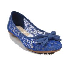 Кружевные женские туфли с плоской подошвой удобной обуви