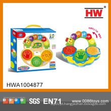 Venda quente B / O Plastic Toy Drum Instrumentos de Música