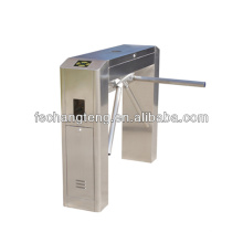 Automaticbridge turnstile with 304# stainless steel housing