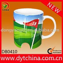Fabrik direkt Großhandel Werbe einzigartige Keramik Tasse Lieferant