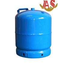 Cylindre de gaz de LPG et cylindre en acier de gaz pour la cuisine 3kg