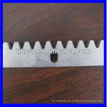 Cremalheira de engrenagem C45 / caixa de engrenagens de latão Fabricante profissional