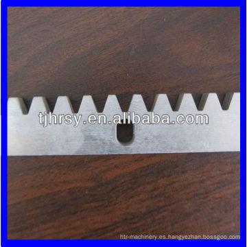 C45 cremallera / cremallera de latón Fabricante profesional